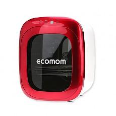 ECO-100 에코맘 젖병소독기 고급형-레드(Red) 문화상품권+램프